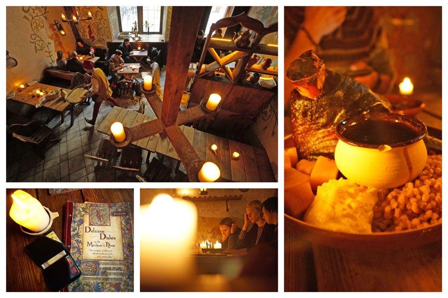 Restaurante de Tallin: Olde Hansa, uno de los lugares donde comer y beber en Tallin