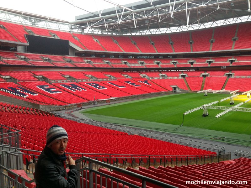 Visita al Estadio de Wembley