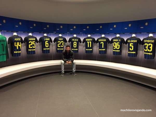 tour al estadio San Siro