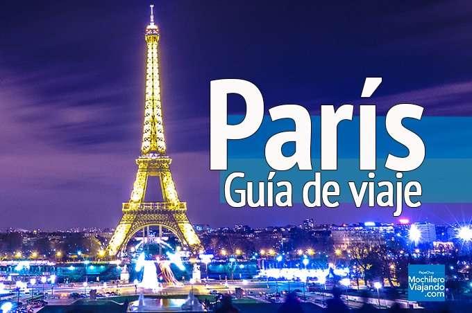 guia de viaje a paris francia