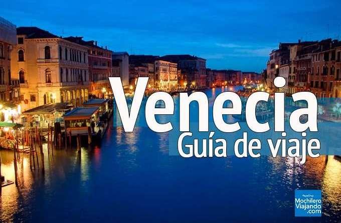 guia de viaje a venecia italia