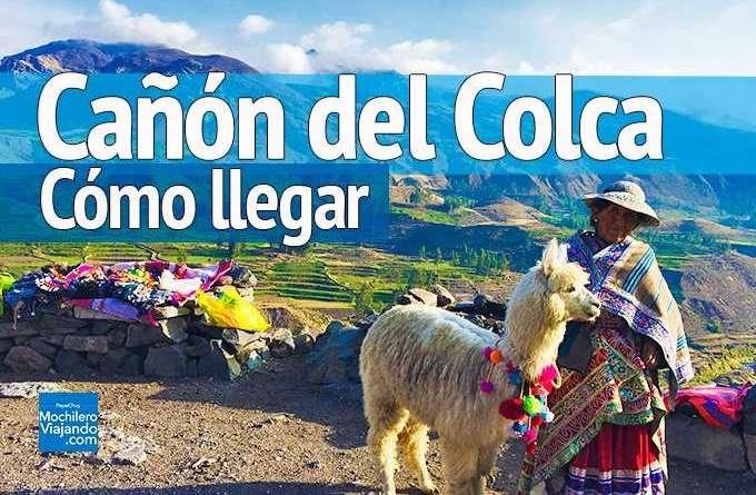 llegar al Cañón del Colca