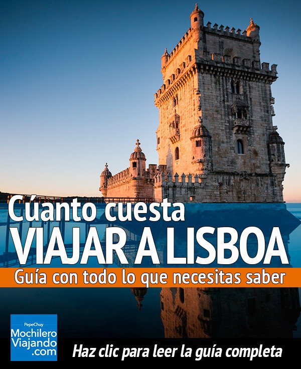 cuanto cuesta viajar a Lisboa