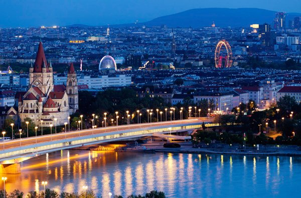 ciudades más visitadas