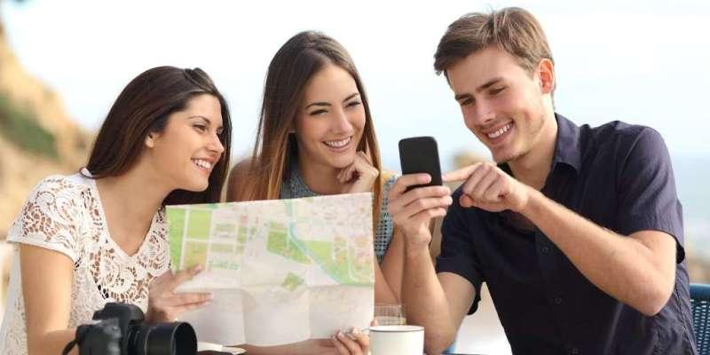 La tecnología hace nuestra vida más fácil, pero también nuestros viajes ya que nos puede ayudar a planear, ahorrar y seleccionar los mejores lugares que visitar,