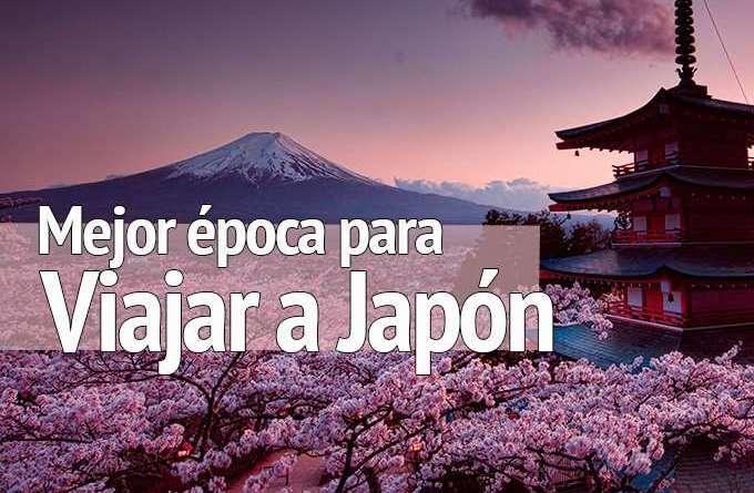 Mejor época para viajar a Japón