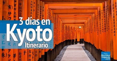 Itinerario: Que ver en Kyoto en 3 días