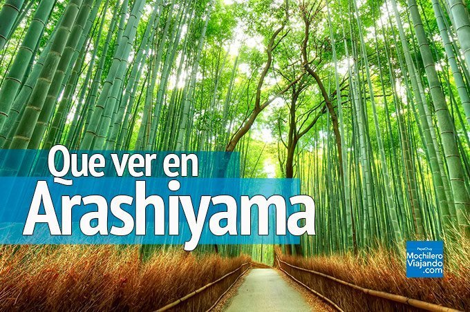 que ver en arashiyama