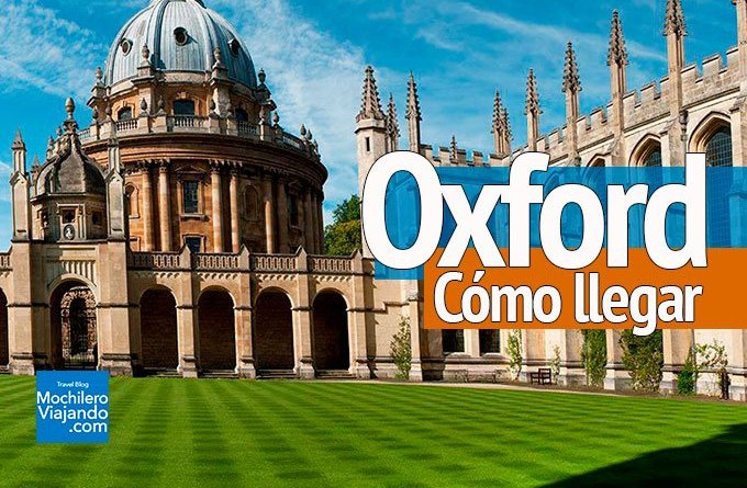 cómo ir a Oxford