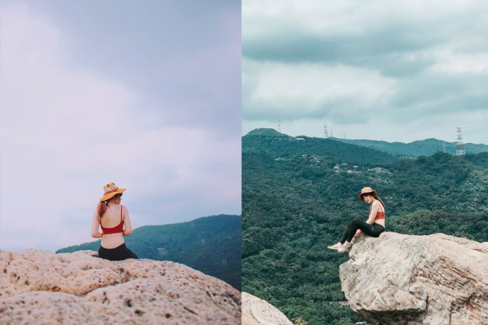 台北內湖爬山步道|金面山剪刀石:IG網美景點,手腳並用攀岩@捷運西湖站