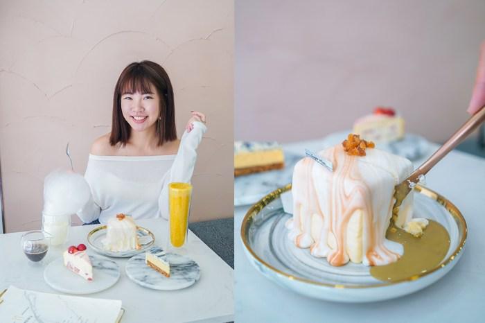 國父紀念館下午茶|sugar miss:超級美的IG大理石蛋糕!日本人也愛來的東區咖啡廳,豆腐岩蛋糕意外好吃@捷運國父紀念館站