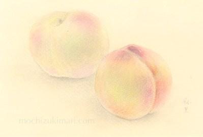 「東北の思い出」 望月麻里(鉛筆、色鉛筆)illustrated by Mari Mochizuki / サポサポ プロジェクト出品用(完売)