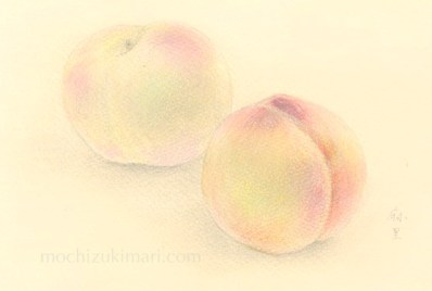 sold out「東北の思い出」望月麻里(鉛筆、色鉛筆)illustrated by Mari Mochizuki / サポサポ プロジェクト出品用(完売)
