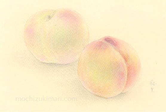 「東北の思い出」望月麻里(鉛筆、色鉛筆)illustrated by Mari Mochizuki / サポサポ プロジェクト出品用(完売)