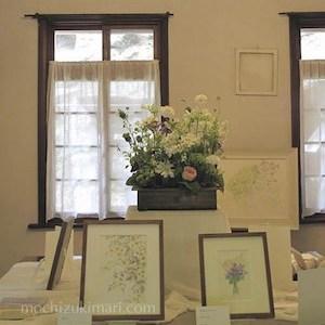 NEWS:追想 望月麻里「すみれ絵展」2017