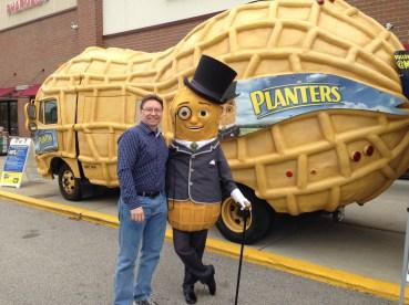 Hanging with Mr. Peanut