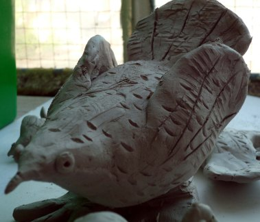 Clay Birds © Trowbridge Museum / Larkrise Sixth Form