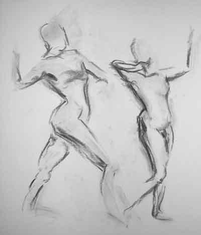 5 minute gesture drawing