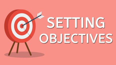 Blog post thumbnail showing a pink background with a red and white target with arrow in the bulls eye.