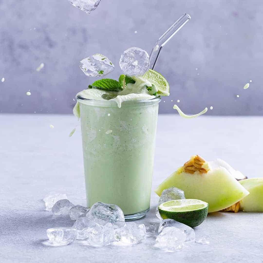Honeydew Cucumber Smoothie