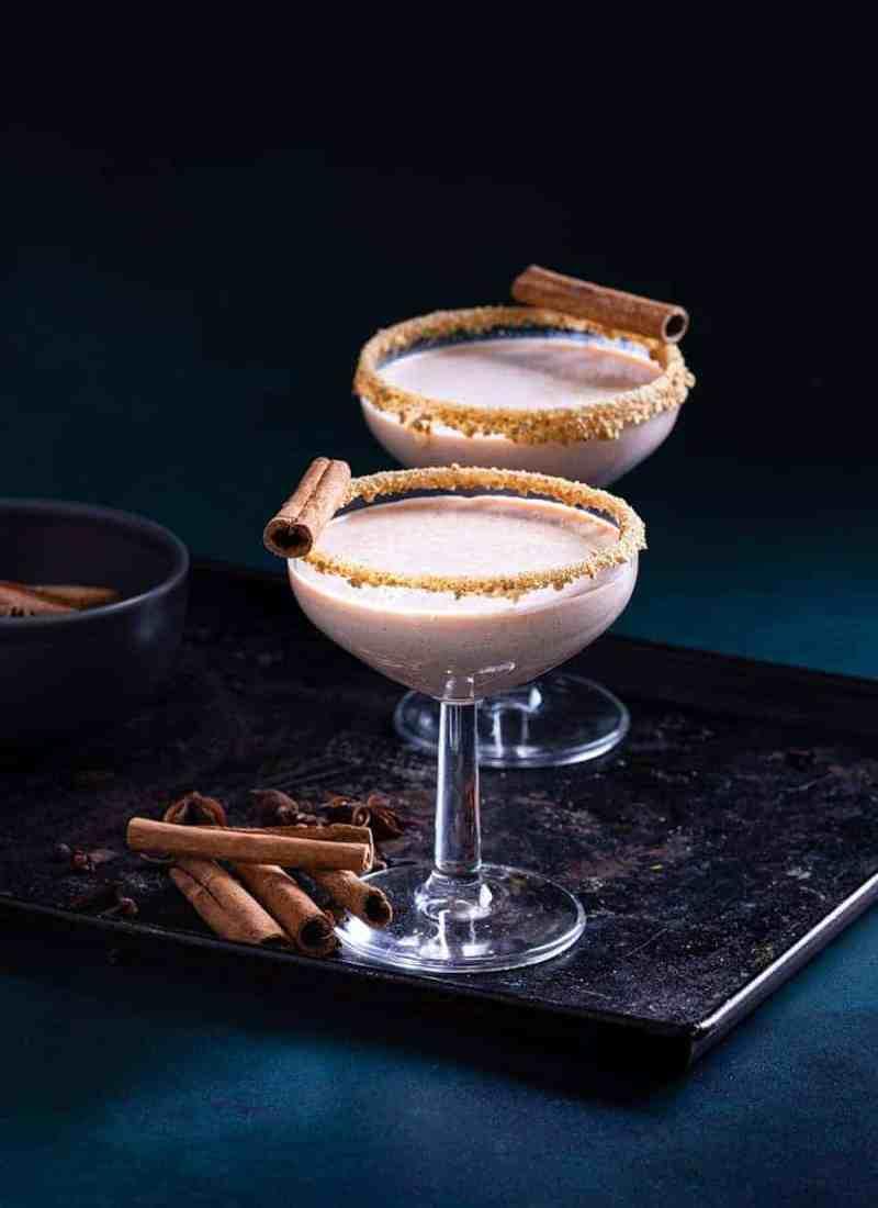 Pumpkin Pie Martini Mocktail - Easy Mocktails Recipes - Power Drinks recipe