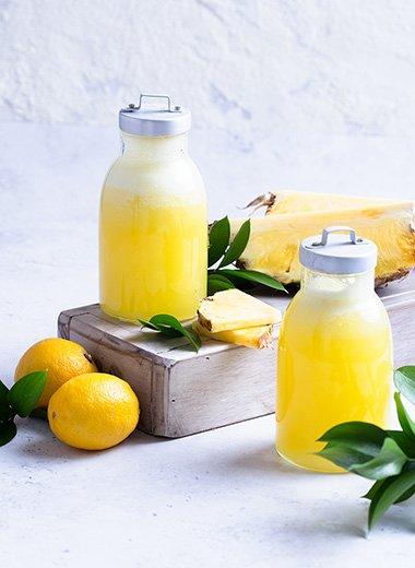 Signature Collection Fresh Pineapple Lemonade Recipe