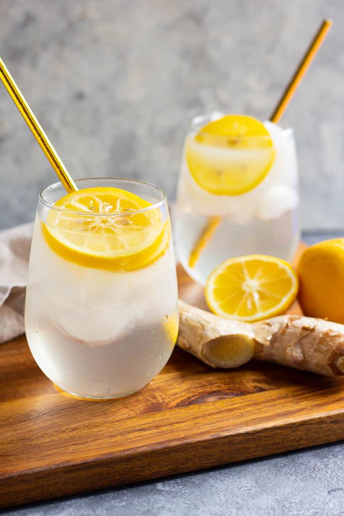 Fresh Ginger Lemonade Recipe Mocktails And More