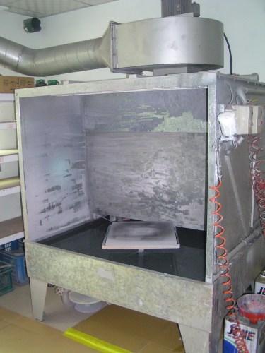 Rinsing Spray Paing Equipment of JIERCHEN Mockup