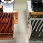 heatsink working sample made by JIERCHEN Mockup