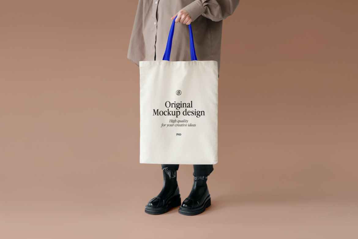 A bag is one of the strongest marketing elements to spread. Tote Bag Mockup Premium Free Psd Mockup Store