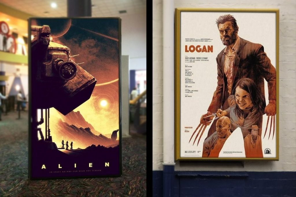 Movie posters are an art, and horror movies have had their fair share of artistic triumphs. 15 Movie Poster Mockup Psd For Movie Branding Mockupcloud