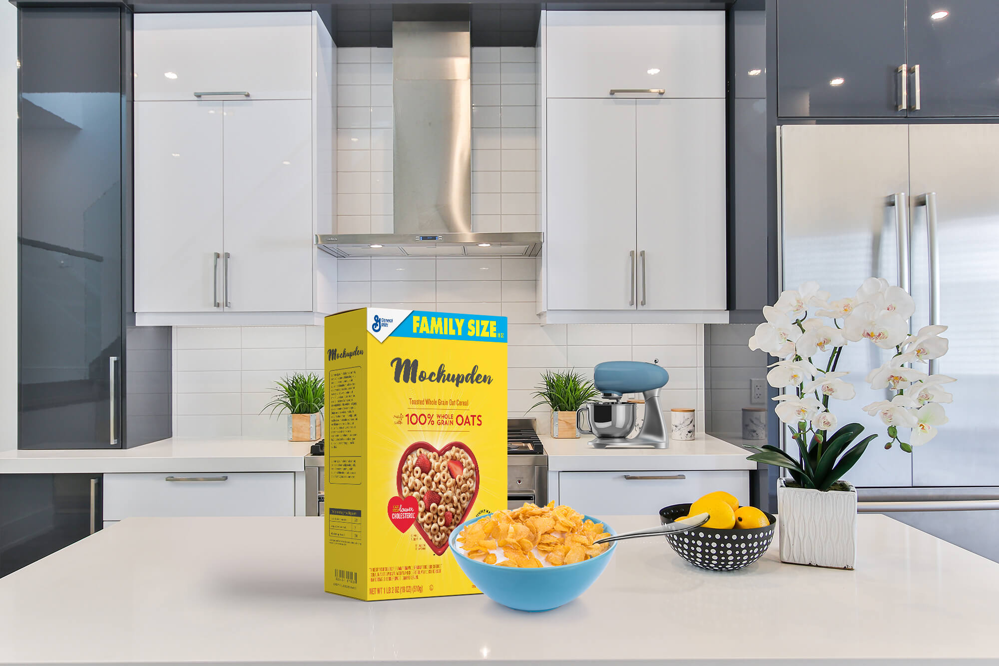 Only 9 for this incredible bundle of 8 cereal box mock ups brand me cereal mock up. Free Cereal Box Mockup Psd Template Exclusive