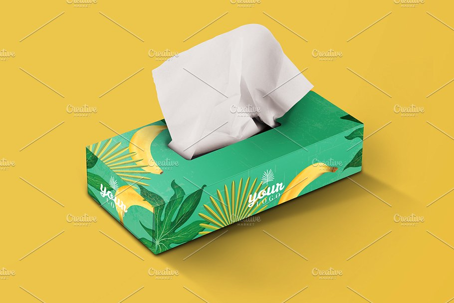 Download 25+ Free Tissue Box Mockup Creative PSD, Vector Templates