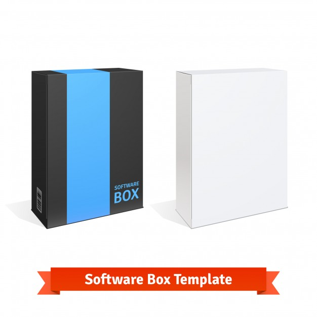 Download 12+ Software Box Mockup PSD Free & Premium Templates