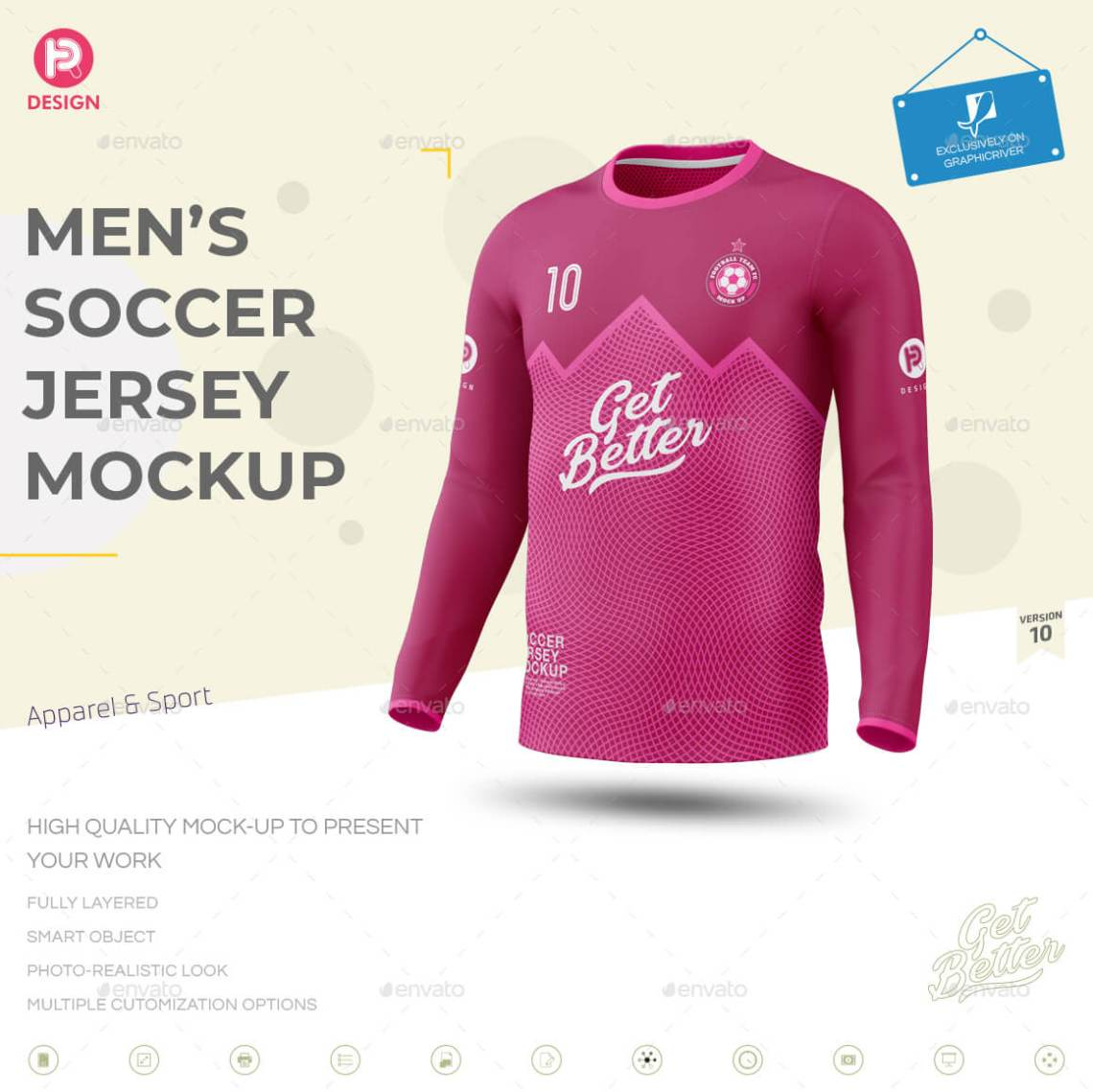 Download 41+Free Soccer Shirt Mockup (Jersey) PSD and Vector Template