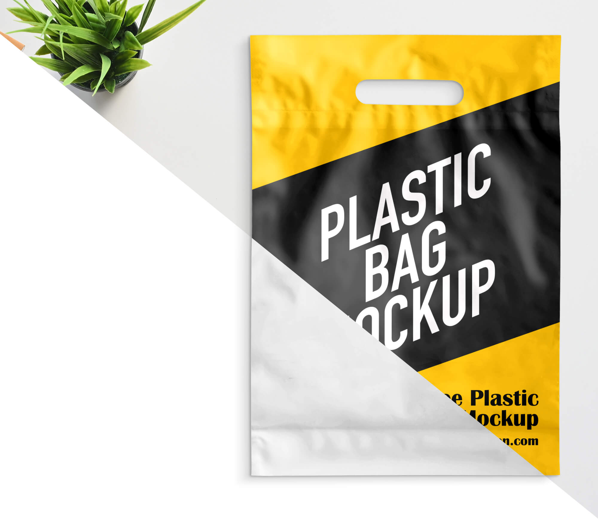 + mockup file for photoshop cc 2015 that uses artboards feature (all shots in one). Free Plastic Bag Mockup Psd Template Mockup Den