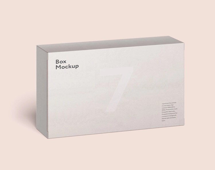 Download Rectangle Box Free Mockup | Download