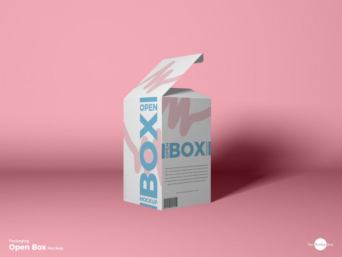 Download Modern Packaging Box PSD MockUp Template - Mockup Free ...