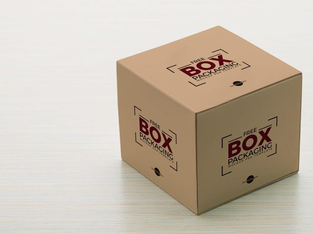 Download Free Box Packaging Mockup - Mockup Free Downloads