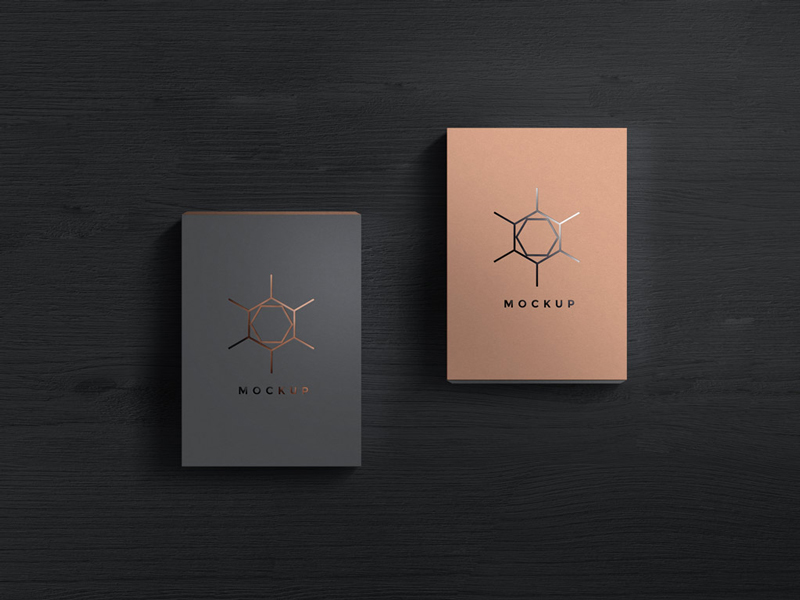 Download Elegant Box Mockup For Packaging Designs With Different ...