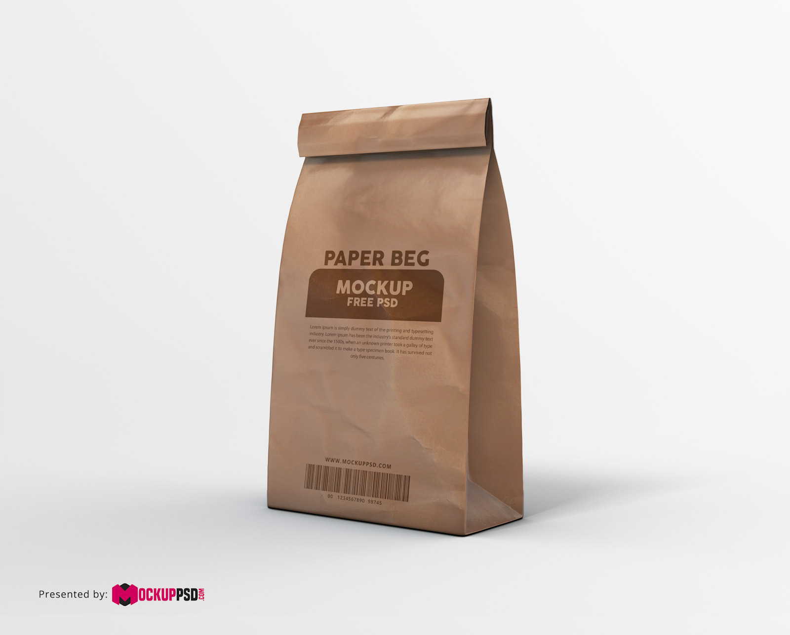 How To Make A Book Cover Out Of A Paper Bag ~ Paper bag mockup free psd mockuppsd.com