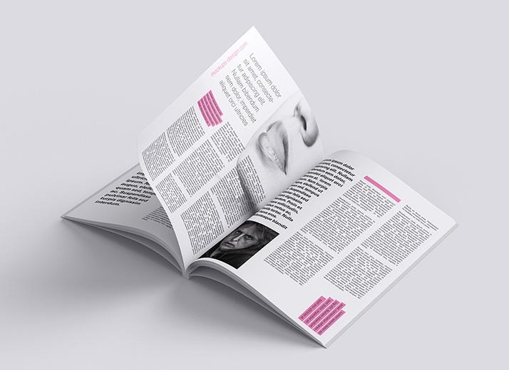 Free magazine mockup  Mockups Design  Free Premium Mockups
