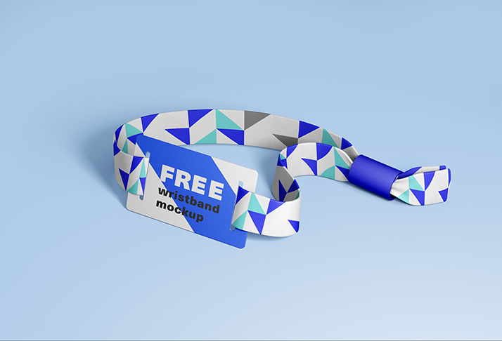 Yellow images is an online marketplace of unique object mockups for branding and packaging. Free Rfid Wristband Mockup Mockups Design
