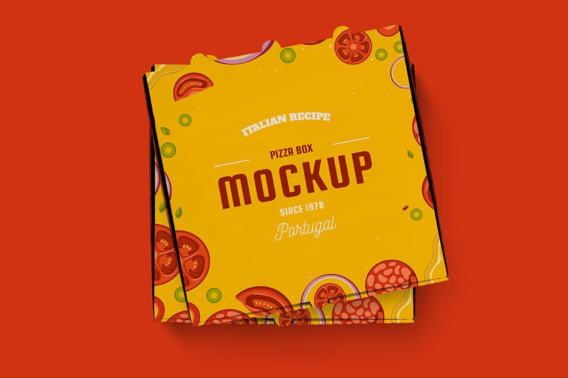 pizza box mockup 4