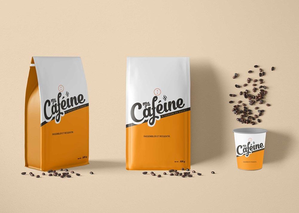 Download 25+ Top Coffee Packaging Mockup PSD Templates   Mockuptree