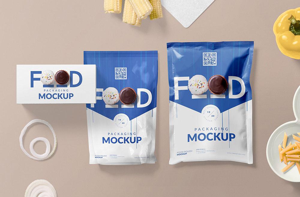 Download Free Food Packaging Mockup | Mockuptree