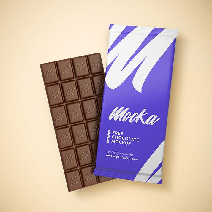 Download Free Chocolate Mockup | Mockuptree