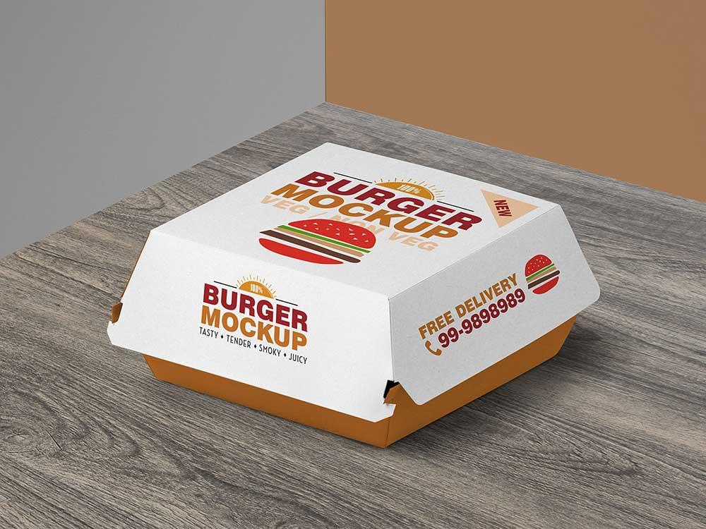 By template shared 28 december, 2020, 6:54 am. Free Burger Box Mockup Mockuptree