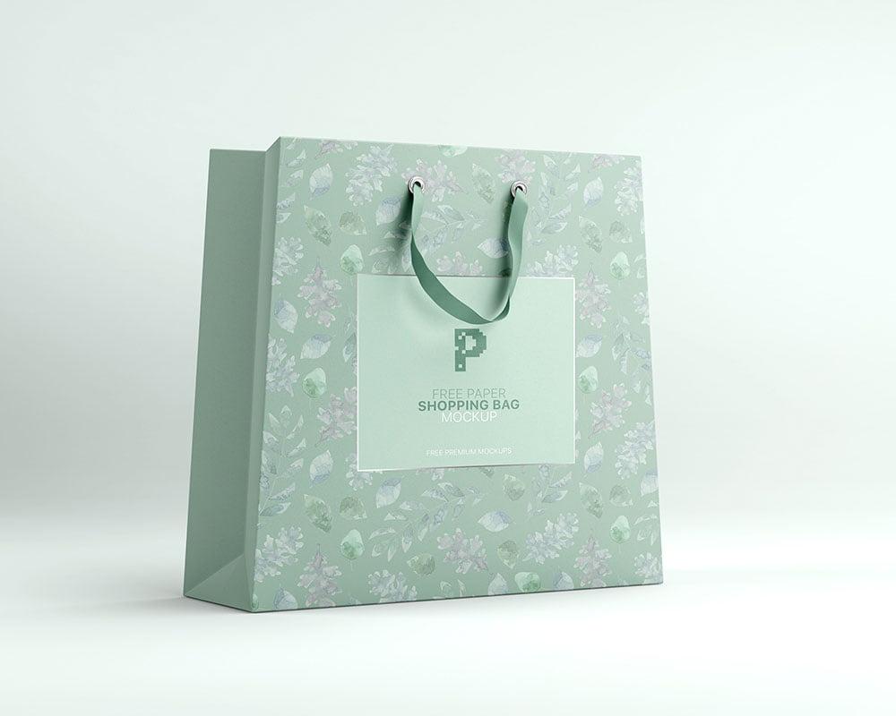 5674+ poly mailer bag mockup photoshop file download poly bag mockup for free. Free Paper Shopping Bag Mockup Psd Mockuptree