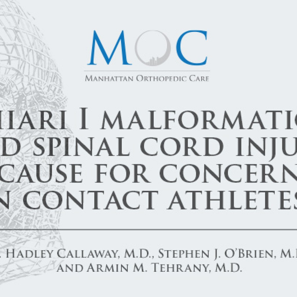 Medical Publication Chiari I Malformation